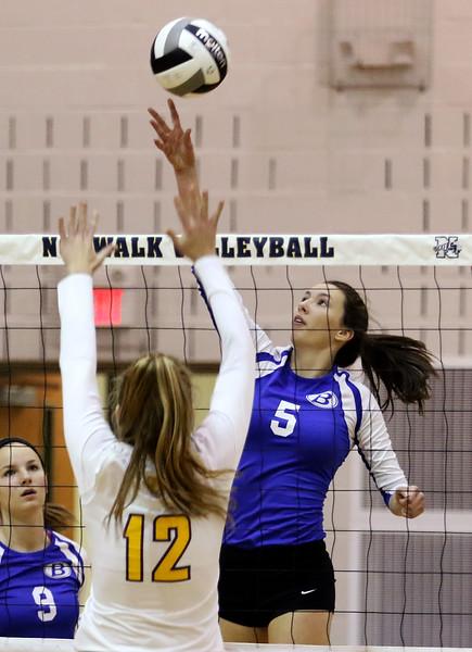 Brunswick volleyball regroups to beat St. Joseph