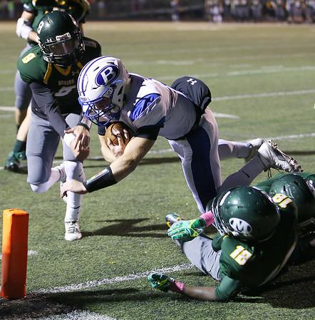 High school football: Medina's disappointing loss to Brunswick