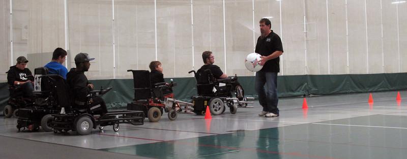 Power soccer team ready for new season